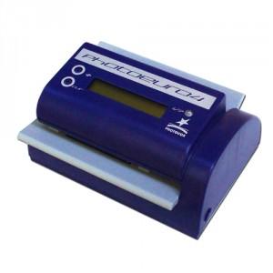 """Verificatore di banconote """"Photoeuro"""" distribuito dalla Mino Carpanini Srl"""