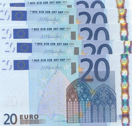 Banconote da 20 euro